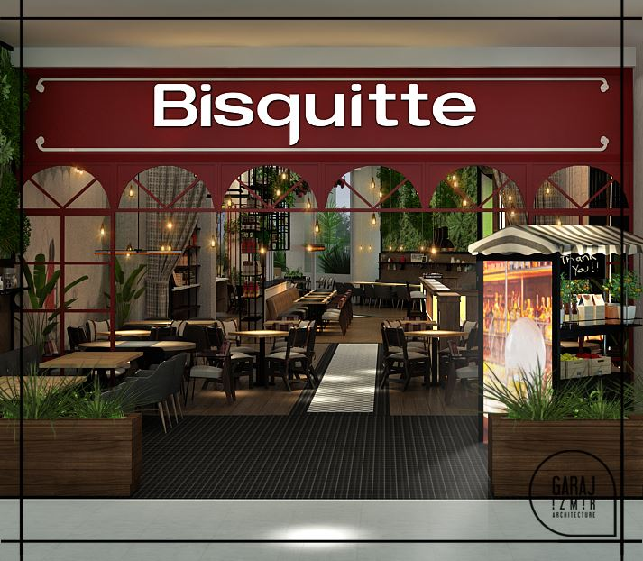 Bisquitte Restaurant Project - İzmir / Turkey