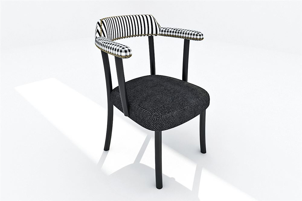B&W Chair 02